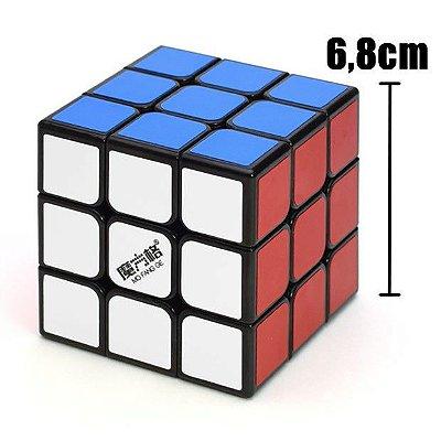 Cubo Mágico 3x3 QiYi Sail 6.8cm