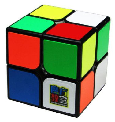 Cubo Mágico 2x2 Moyu  MF2C (Preto)