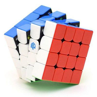Cubo Mágico 4x4 Ganspuzzle GAN 460 M Magnético (Semi-Novo)