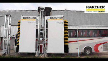 Lavador de ônibus Karcher