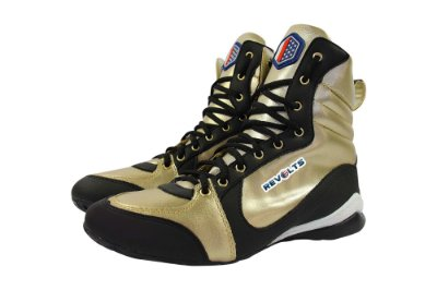 Bota Fitness Revolts - Preto/Dourado