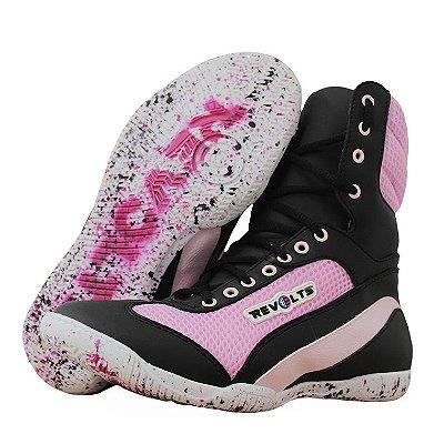 Bota Fitness Revolts - Pink/black SU8090