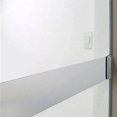 Faixa Branca anti-impacto para vidro - 5 metros