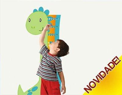 Adesivo Régua Dino
