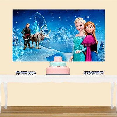 Painel de Festa Infantil Frozen 2