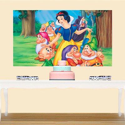 Painel de Festa Infantil Branca de Neve 2