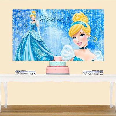 Painel de Festa Infantil Cinderela