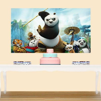 Painel de Festa Infantil Kung Fu Panda