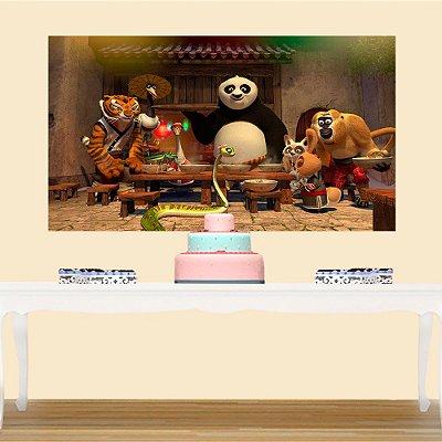 Painel de Festa Kung Fu Panda 2