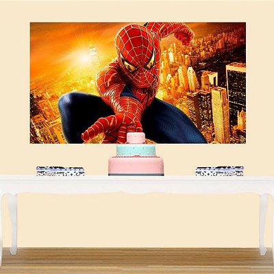 Painel de Festa Homem Aranha