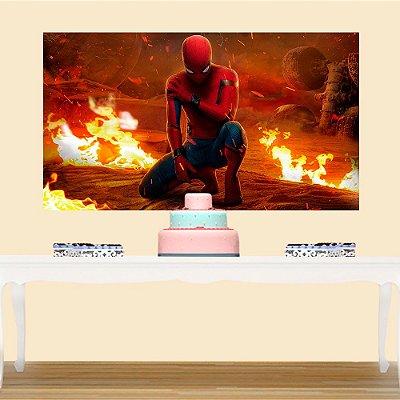 Painel de Festa Homem Aranha 2