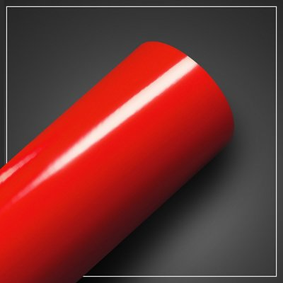 Adesivo Vermelho Vivo Brilhante - Larg. 60cm - Venda por mt