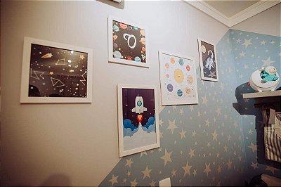 Adesivo de Parede Estrelas AD09