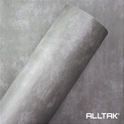 Papel de Parede Adesivo Concreto - Larg. 1,22mt - Venda por metro linear
