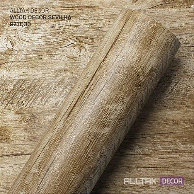 Papel de Parede Adesivo Wood Sevilla - Larg. 1,22mt