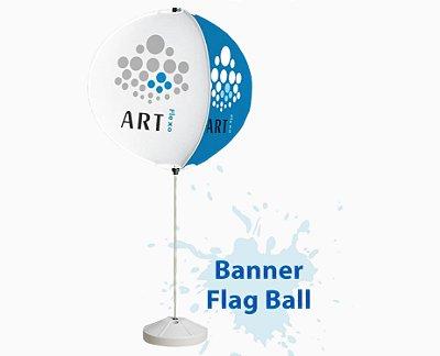 Flagball Kit Completo Bandeira e Base