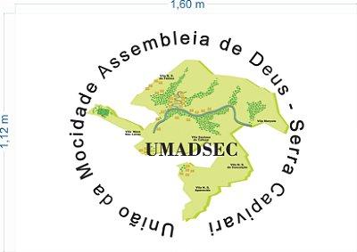 Bandeira - UMADSEC 1,6 x 1,12 m + Frete