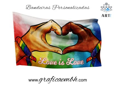 Bandeira - Love is Love / Amor é Amor