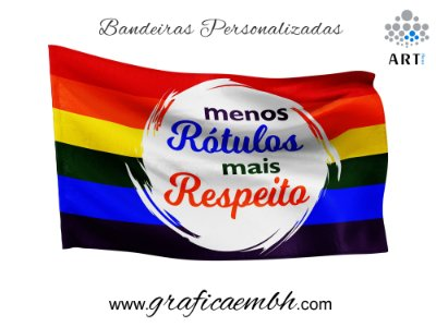 Bandeira Rótulos