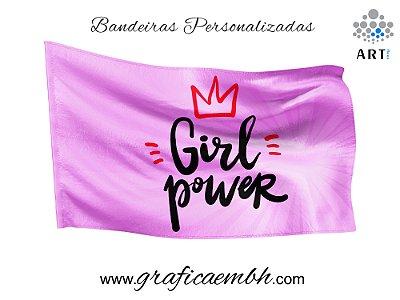 Bandeira Poder feminino / Girl Power