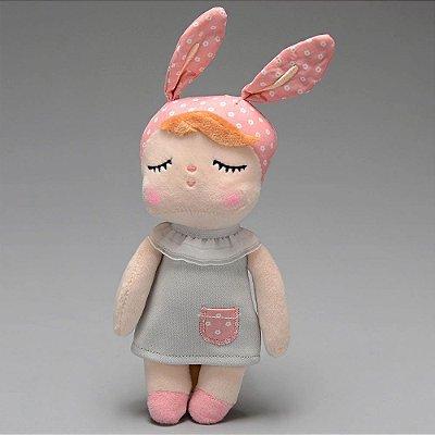 Boneca Mini Metoo Doll - Angela Clássica Cinza