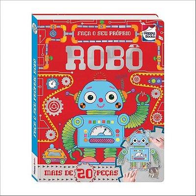 Livro - Faça e Brinque - Robô - 3D