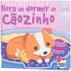 Livro De Pano - Hora De Dormir Cãozinho - Sensorial
