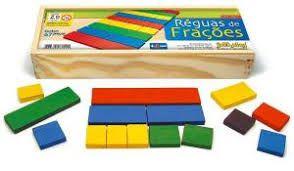 Réguas De Frações - C/ 67 Peças - Jott Play