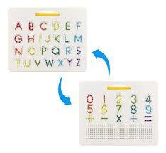 Lousa - Magforma Board - Maiúscula e Minúscula