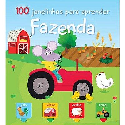 Livro - Fazenda - 100 Janelinhas Para Aprender