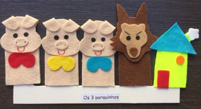 Dedoches - Os Três Porquinhos