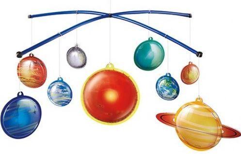 Sistema Solar - Crie um Móbile