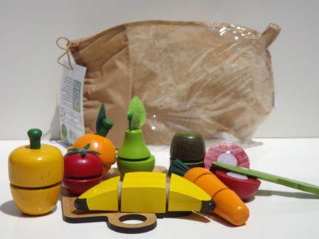 Coleção Comidinhas Kit Frutinhas com Corte - 10 peças