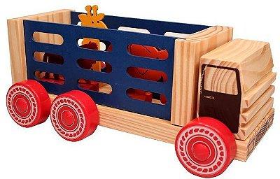 Caminhão Circo de madeira