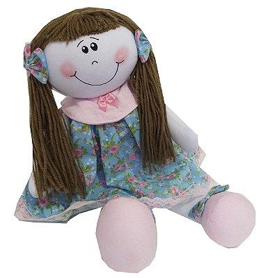 Boneca com Vestido (Tamanho M)