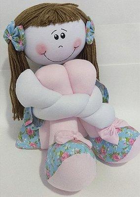 Boneca Sentada (Tamanho M)