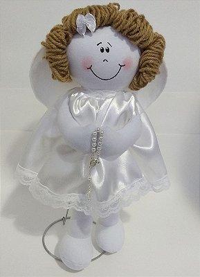 Boneca Pano - Anjo - Tamanho P