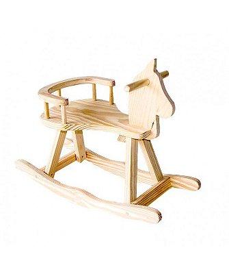 Cavalo Mirim de madeira