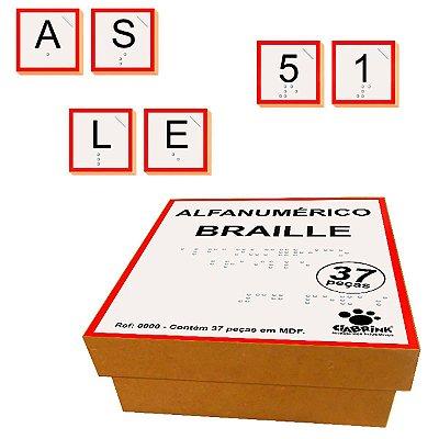 Alfanumérico Braile-Madeira-CiaBrink