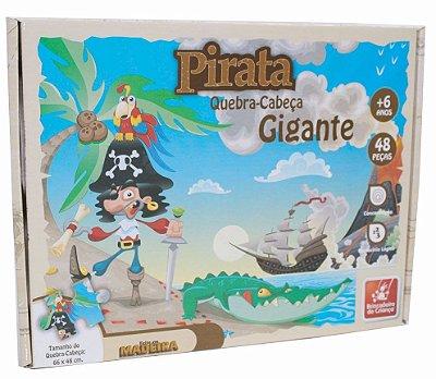 Quebra -Cabeça 48pçs Piratas