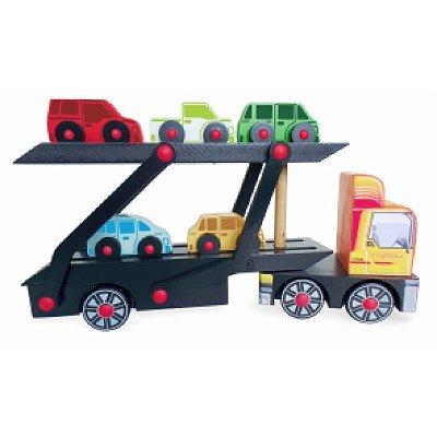 Caminhão Cegonha de madeira