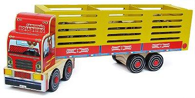 Caminhão Boiadeiro de madeira