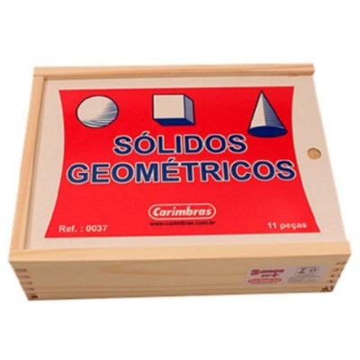 Sólidos Geométricos c/11Peças