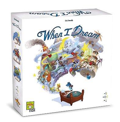 Jogo de Tabuleiro – Board Game – When I Dream– Galápagos