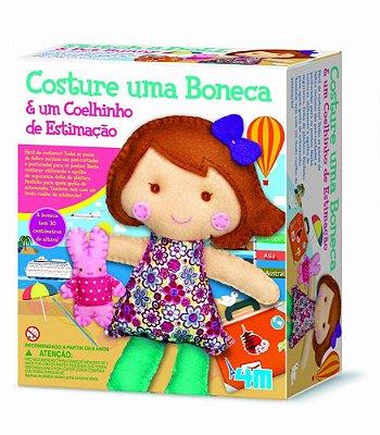 Costura Infantil – Costure uma Boneca e um Coelhinho – Kosmica – 4M