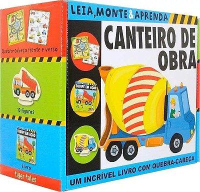 LIVRO- Canteiro de Obra: Leia, Monte e Aprenda