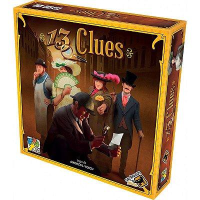 Jogo de Tabuleiro - Bord Game - 13 Clues - Galápagos