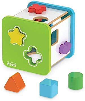 Cubo Didático - Formas Geométricas - Encaixe
