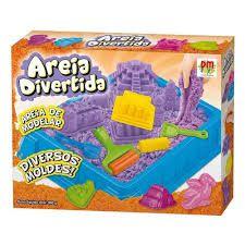 Areia De Modelar Divertida - Castelo + Bandeja e Acessorios
