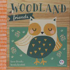 Livro - Woodland Friends - Inglês